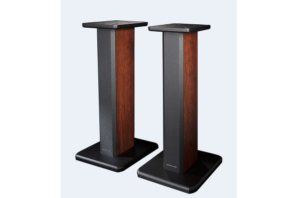 Large image of Edifier Wood Grain Speaker Stands For Airpulse A200 (Pair) - APSTA200