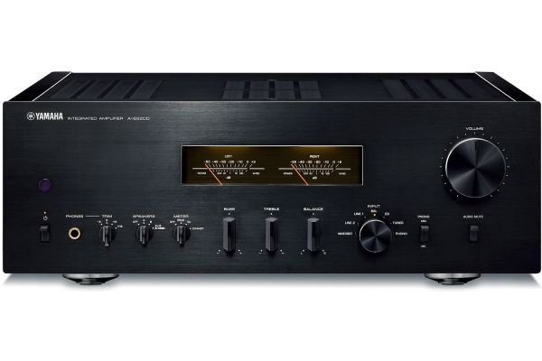 Large image of Yamaha Piano Black Integrated Amplifier - A-S2200BL