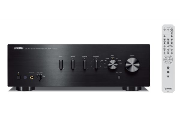 Yamaha Black 85W Integrated Amplifier - AS-501BL