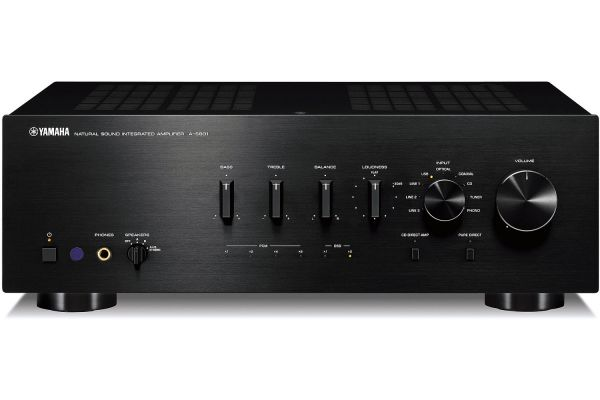 Yamaha Black Integrated Amplifier - A-S801BL