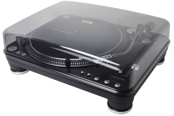 Audio-Technica Black Direct-Drive Professional DJ Turntable - AT-LP1240-USBXP
