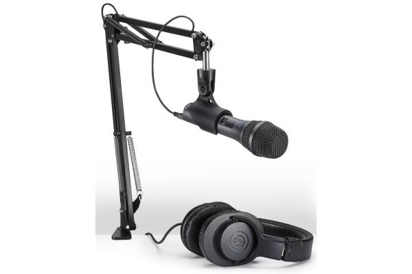 Large image of Audio-Technica Streaming/Podcasting Pack - AT2005USBPK