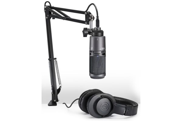 Large image of Audio-Technica Streaming/Podcasting Pack - AT2020USBPK