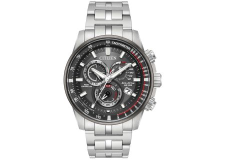 Citizen Eco-Drive PCAT Stainless Steel Mens Watch - AT4129-57H