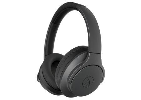 Audio-Technica Black QuietPoint Wireless Active Noise-Cancelling Headphones - ATH-ANC700BTBK