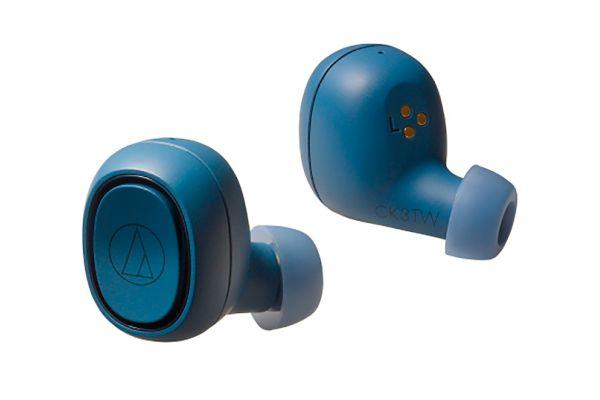 Audio-Technica Blue True Wireless In-Ear Headphones - ATH-CK3TW-BL