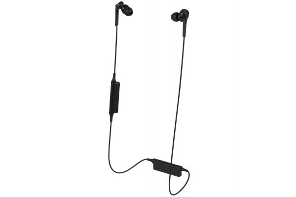 Audio-Technica Solid Bass Black Wireless In-Ear Headphones - ATH-CKS550XBTBK