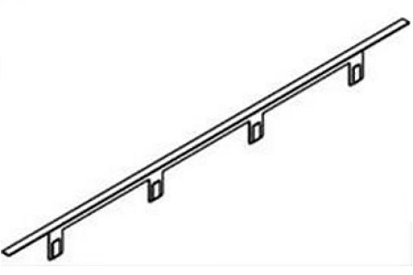"Large image of Best 30"" Black Stainless Steel Range Trim Kit - ATKD30BLS"