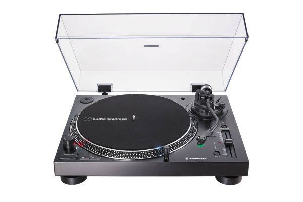 Large image of Audio-Technica Black Direct-Drive Turntable - AT-LP120XUSB-BK