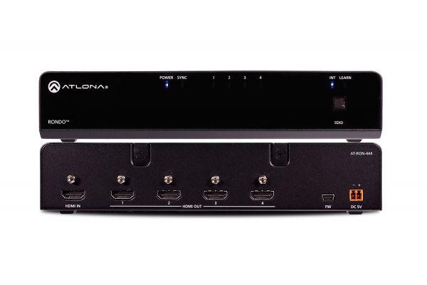 Atlona Four-Output HDMI Distribution Amplifier - AT-RON-444