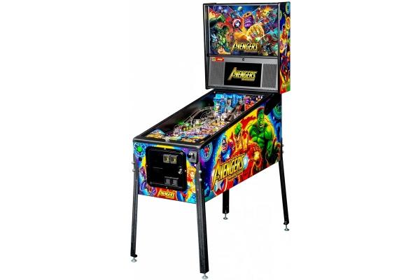 Large image of Stern Pinball Avengers: Infinity Quest Pro Pinball Machine - AVENGERSPRO