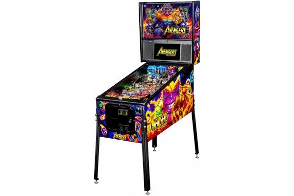 Large image of Stern Pinball Avengers: Infinity Quest Premium Pinball Machine - AVENGERSPREMIUM