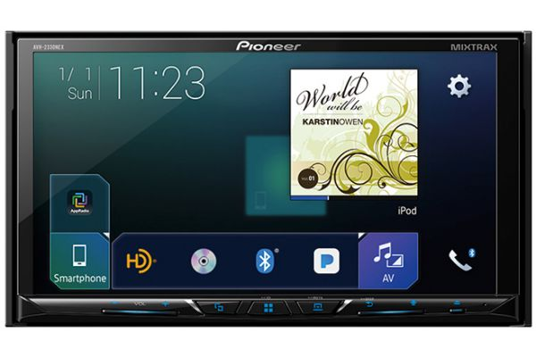 Large image of Pioneer Double-DIN DVD Receiver - AVH-2330NEX