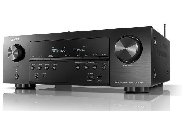 Large image of Denon Black 7.2ch 4K AV Receiver With Voice Control Compatibility (2019) - AVRS750H
