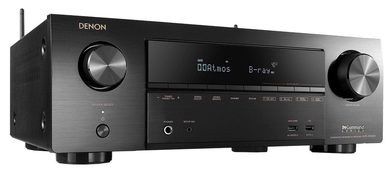 Denon 7 2 Channels Full 4K AV Receiver With Amazon Alexa Voice Control