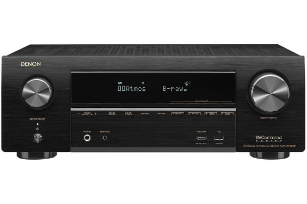 Large image of Denon 7.2 Channel Full 4K Ultra HD AV Receiver With Amazon Alexa Voice Control - AVRX1600H
