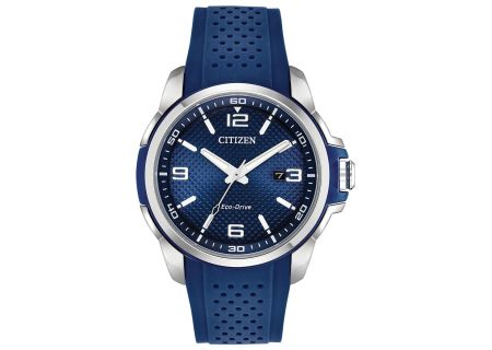 Citizen Eco-Drive Blue AR Mens Watch - AW1158-05L