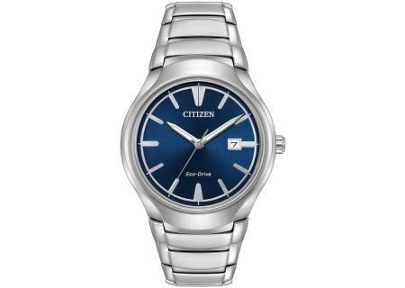 Citizen Eco-Drive Paradigm Stainless Steel Mens Watch - AW1550-50L