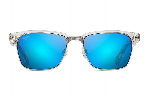 Large image of Maui Jim Kawika Crystal Unisex Sunglasses - B257-05CR