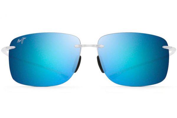 Large image of Maui Jim Hema Crystal Matte Unisex Sunglasses - B443-05CM