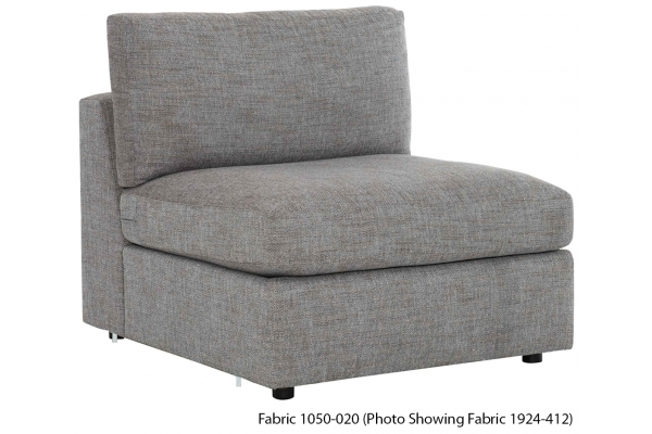 Large image of Bernhardt Stafford Armless Chair - B4830Y-1050-020