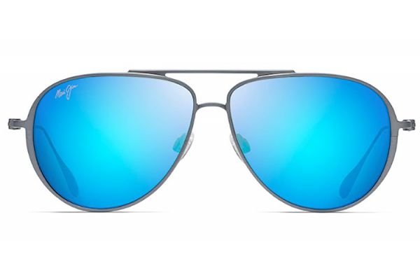 Large image of Maui Jim Blue Hawaii Shallows Polarized Aviator Sunglasses - B543-27A