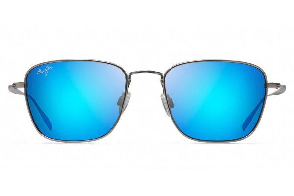 Large image of Maui Jim Blue Hawaii Spinnaker Polarized Classic Sunglasses - B545-11B