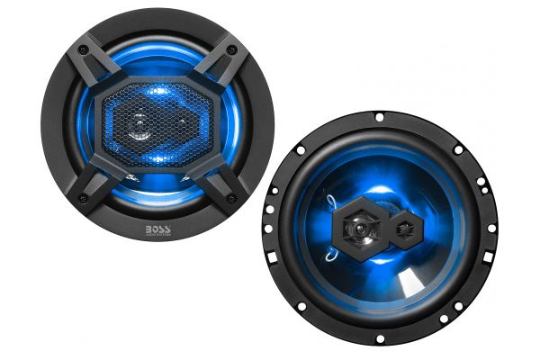 "Large image of BOSS Audio Systems Elite 6.5"" 300W 3-Way Full Range Speakers (Pair) - B65LED"
