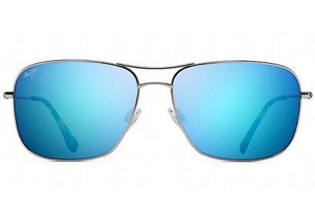 Maui Jim Breezeway Silver Blue Hawaii Polarized Sunglasses - B773-17