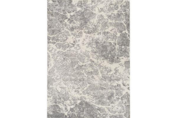 "Large image of Kalora Breeze 7'10"" X 10'6"" Grey Cream Serene Texture Rug - B825/7171 240320"