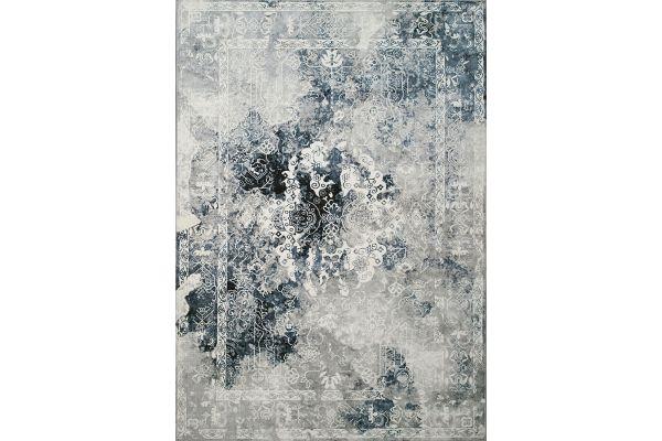 "Large image of Kalora Sidra 2'0"" X 3'7"" Blue Grey Chic Transitional Soft Touch Rug - B850/2747 60110"