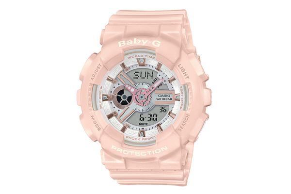 G-Shock Baby-G Pink Running Series Womens Watch - BA110RG-4A