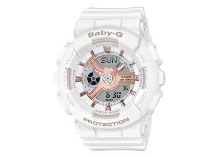 Casio Baby-G White Running Series Womens Watch - BA110RG-7A
