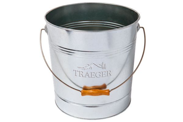 Large image of Traeger Metal Pellet Storage Bucket - BAC430
