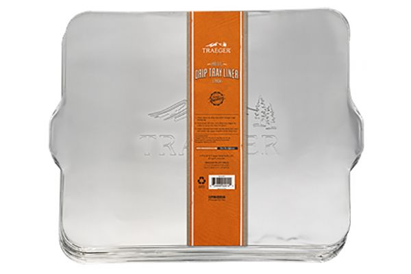 Large image of Traeger Pro 575 Drip Tray Liner 5 Pack - BAC507