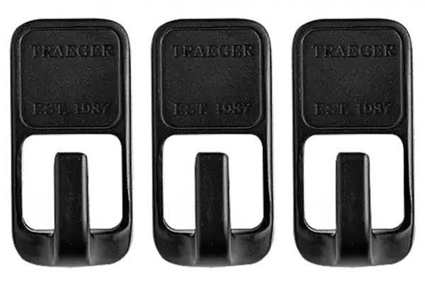 Large image of Traeger 3 Piece Grill Hopper Magnetic Tool Hooks - BAC536