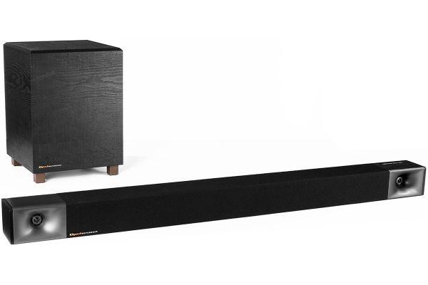 Large image of Klipsch BAR 40 Black Sound Bar + Wireless Subwoofer - 1064247