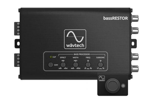Large image of Wavtech 2-Channel Bass Restoration Processor - BASSRESTOR