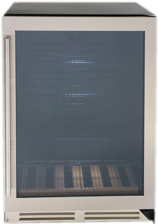 Avanti 5 9 Cu  Ft  Stainless Steel Beverage Cooler