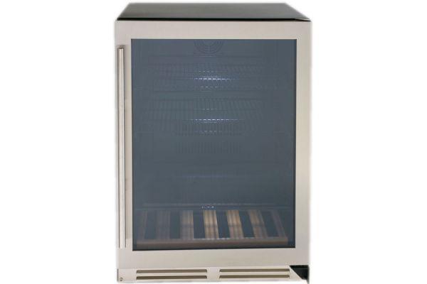 "Large image of Avanti Designer Series 24"" Stainless Frame Beverage Cooler - BCF54S3S"