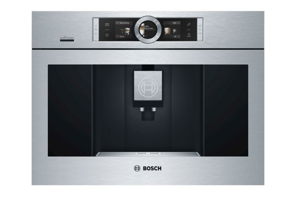 Bosch Stainless Steel Built-in Coffee Machine - BCM8450UC