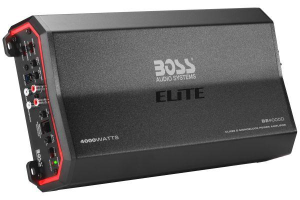 Large image of BOSS Audio Systems Elite 4000W Monoblock Class D Amplifier - BE4000D