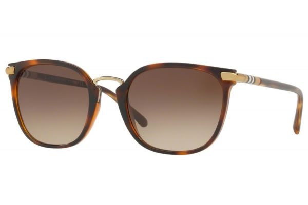 Burberry Square Light Havana Womens Sunglasses - BE4262331613