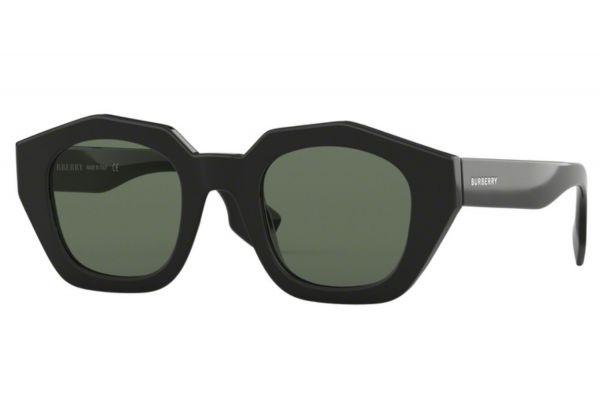 Large image of Burberry Irregular Black Womens Sunglasses - BE4288300171