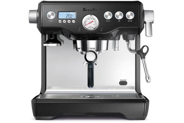 Large image of Breville The Dual Boiler Black Sesame  Espresso Maker - BES920BSXL