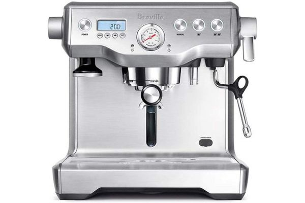 Large image of Breville The Dual Boiler Semi Automatic Stainless Steel Espresso Machine - BES920XL