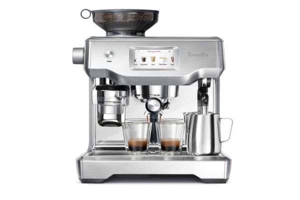 Breville Brushed Stainless Steel The Oracle Touch Espresso Machine - BES990BSS1BUS1