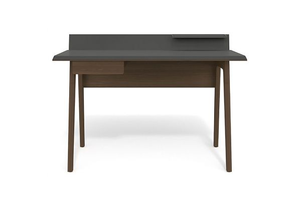 BDI Bevel 6743 Toasted Walnut Modern Writing And Computer Desk - 6743-TWL
