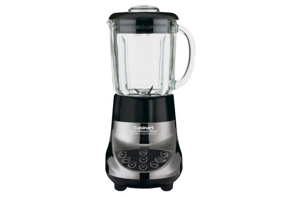 Large image of Cuisinart SmartPower Duet 500 Watt Blender & Food Processor - BFP-703BC