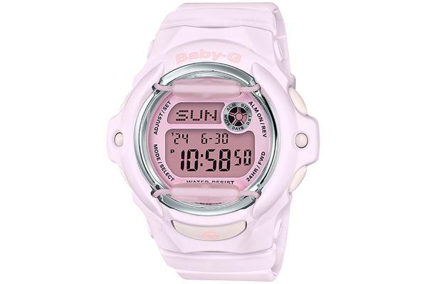 G-Shock Baby-G Pink BGA-169 Series Womens Watch - BG169M-4